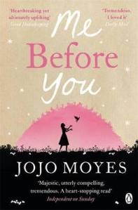 Me Before You by Jojo Moyes (Kindle edition, 516 pages, pub Dec 2011)