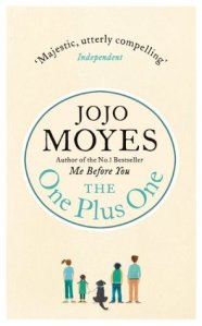 The One Plus One by Jojo Moyes (kindle edition, 528 pp, Feb 2014)
