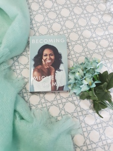 Becoming memoir by Michelle Obama